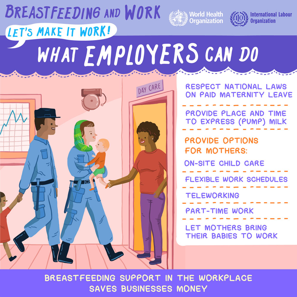 Un Marks World Breastfeeding Week With Call For Stronger Workplace