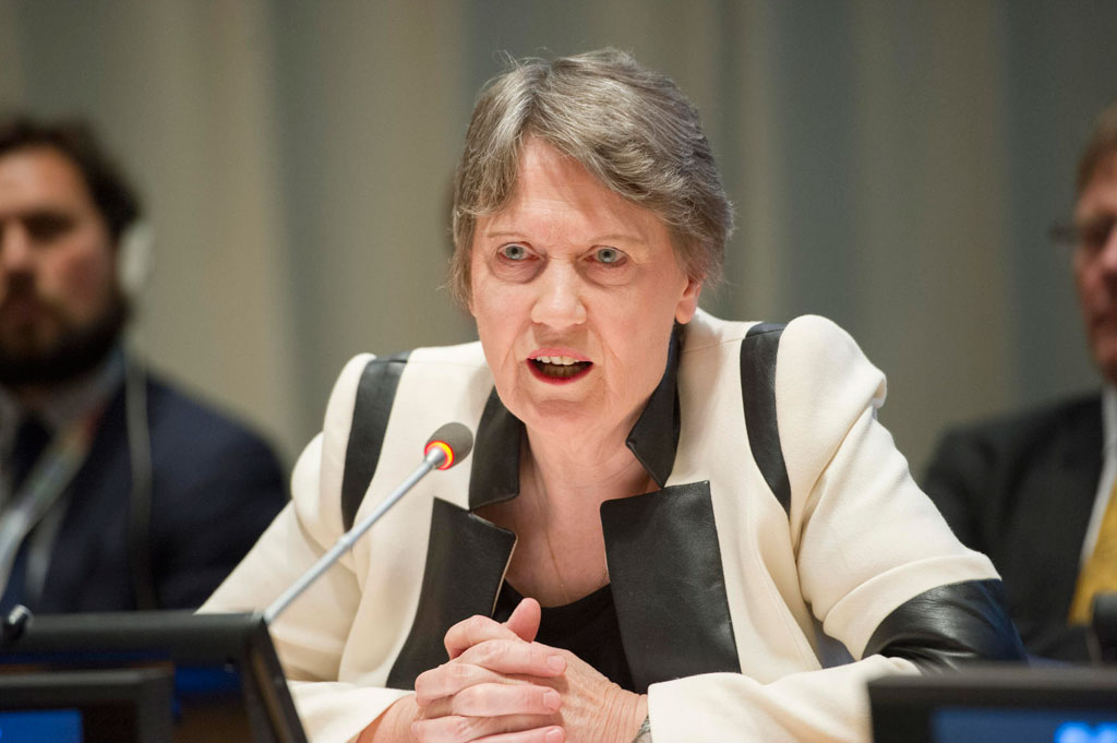 Helen Clark, former Prime Minister of New Zealand and current Administrator of the UN Development Programme. UN Photo/Rick Bajornas