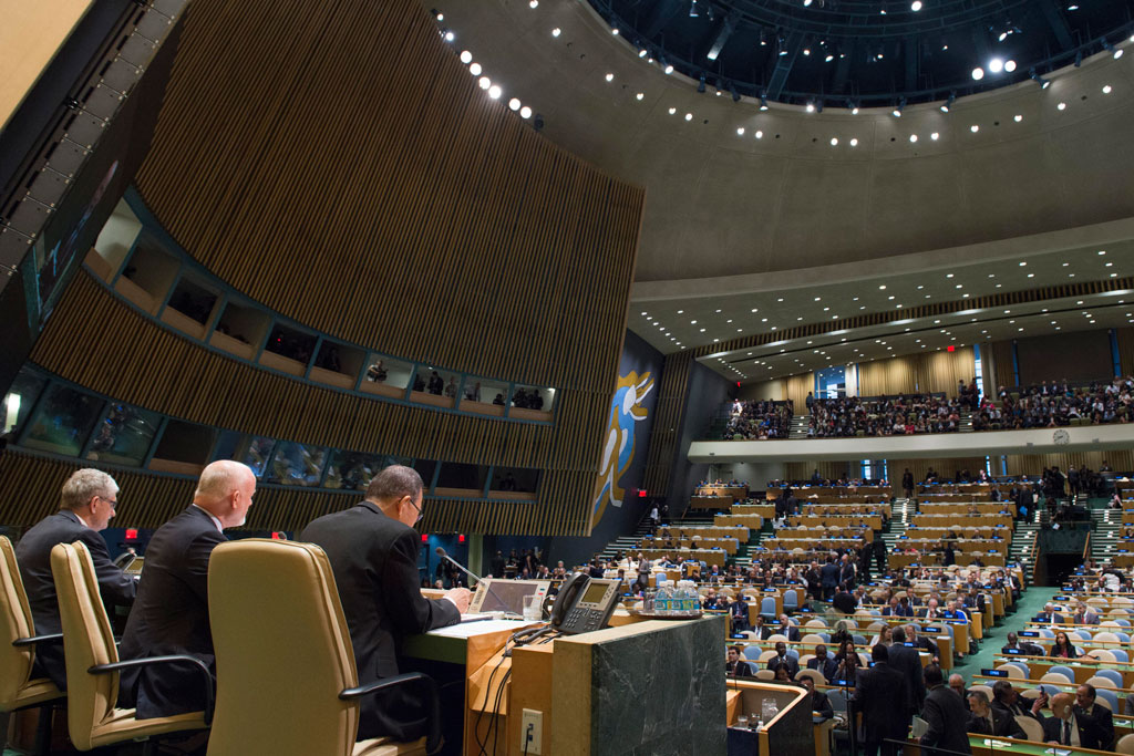 UN leaders underline importance of collective action