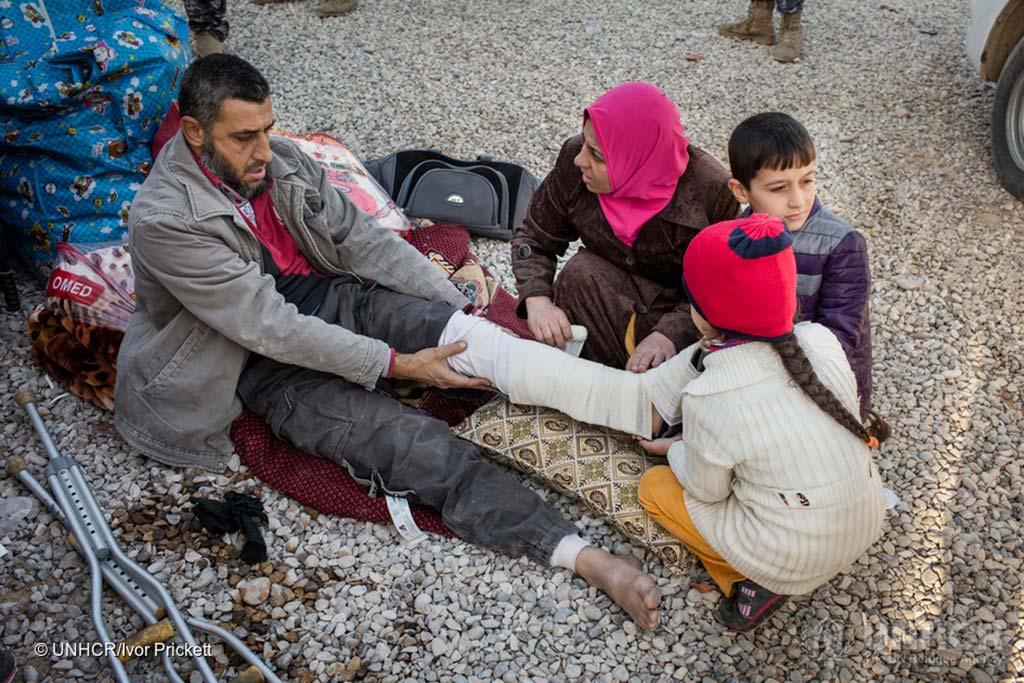 UNHCR/Ivor Prickett