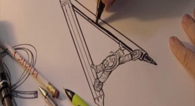 Cartoonists-Foot Soldiers of democracy-trailer (Video capture)