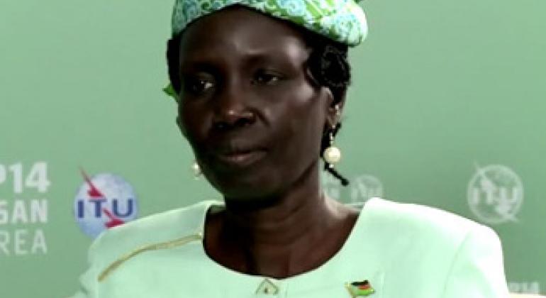 Rebecca Joshua Okwaci. (ITU video capture)