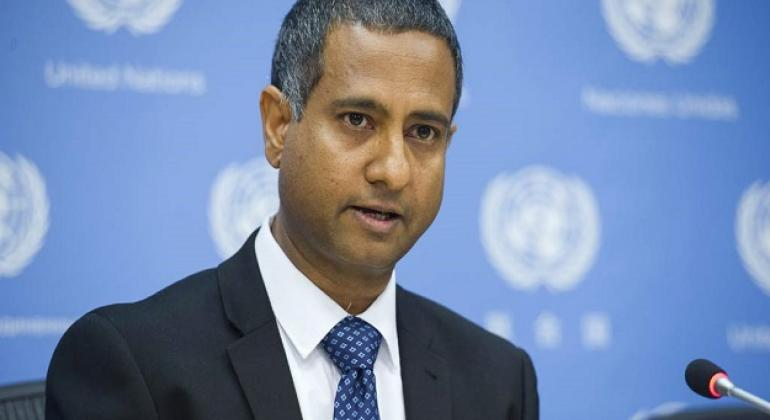 Special Rapporteur on freedom of religion or belief Ahmed Shaheed.