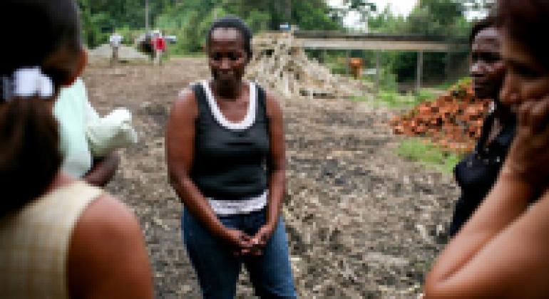Women farmers near Santander, Colombia.