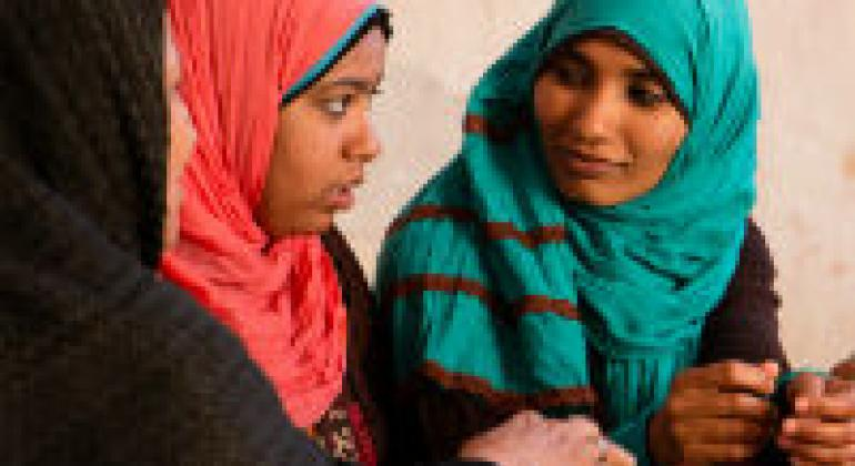 Arab Women. File