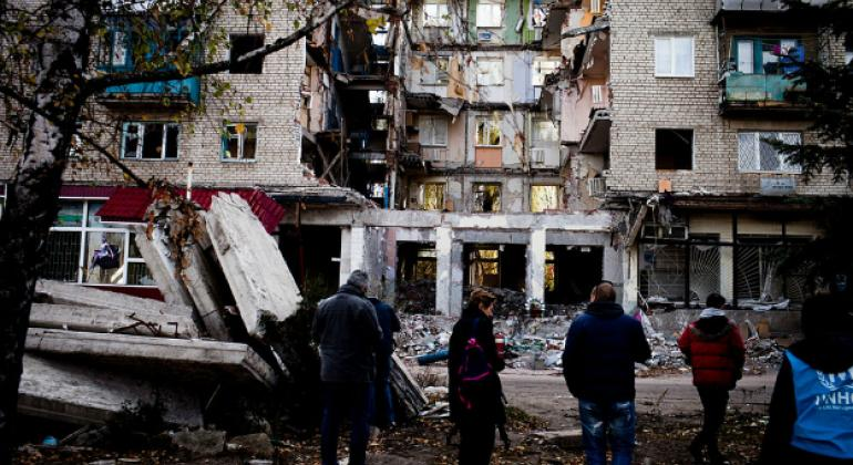 Ukraine: UN calls for protection of civilians after attacks on water facility workers