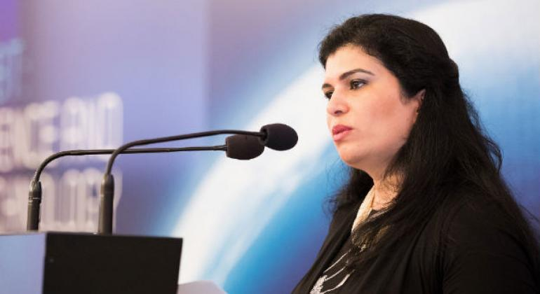 Princess Sumaya bint El Hassan of Jordan speaking at the Science and Technology 2017 Conference organised by the CTBTO (26-30 June 2017)
