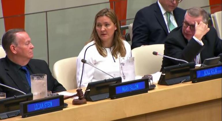 Nina Holm Andersen, Norwegian Police. Source: UN Web TV (file)