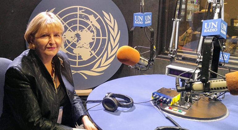Ambassador Darja Bavdaz Kuret of Solvenia.