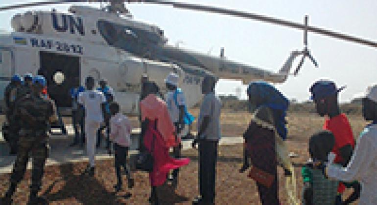 After 4 years living in cramped conditions, families are finally leaving the POC site in Melut, South Sudan, to return to their homes.