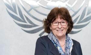 UN Special Representative for International Migration Louise Arbour.