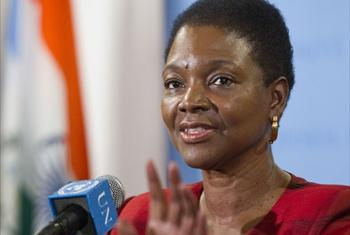 Under-Secretary-General for Humanitarian Affairs Valerie Amos.
