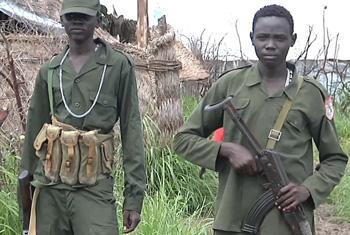 Child soldiers - UNifeed (video capture)