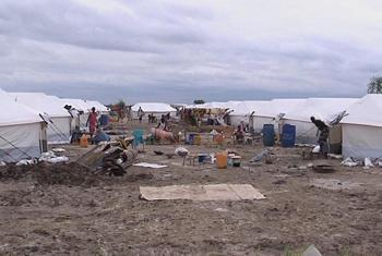 The UN mission in South Sudan had opened a new site adjacent to its base in Malakal to protect civilians uprooted by conflict. (UNifeed - video capture)