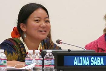 Alina Saba, research and community organizer in Nepal.