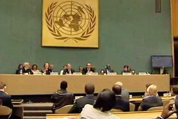 UNHCR's governing Executive Committee. (UNHCR video capture)