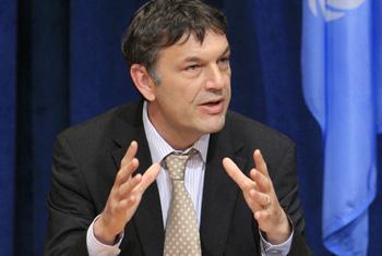 Philippe Lazzarini, UN Humanitarian Coordinator.