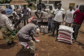 WFP food assistance. WFP/Rein Skullerud