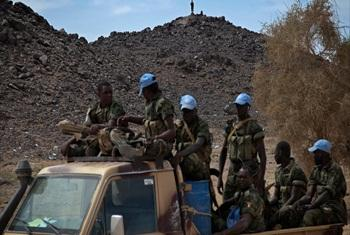 Chadian UN peacekeepers patrol a MINUSMA check point in Tessalit, North of Mali. Photo MINUSMA/Marco Dormino (file photo)