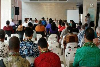South-South Technology Transfer Facility for SIDS Launched in Samoa. UNOSSC@PHOTO