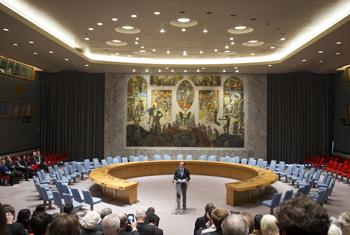 Security Council Chamber.