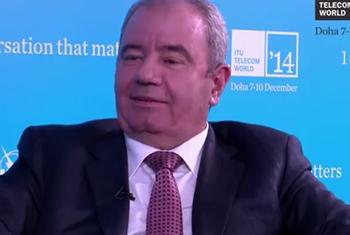 Prof. Dr. Ali Abbasov, Minister, Communications & High Technologies, Azerbaijan (ITU video capture)