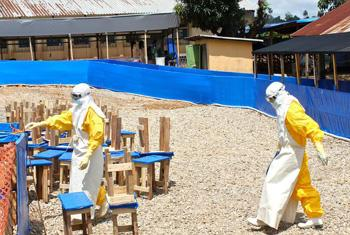 Ebola health workers.