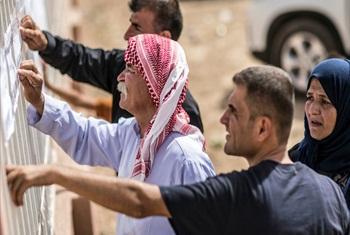 Displaced Iraqis.