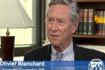 Olivier Blanchard. (IMF video capture)