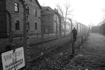 Secretary-General Ban Ki-moon visits the Nazi concentration camp at Auschwitz-Birkenau in Poland.