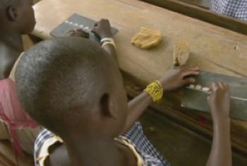 Halima in school/ UNIFEED Video Capture
