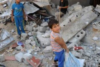 Gaza. UNRWA Archives/Shareef Sarhan