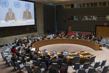 Security Council meeting regarding Ukraine.