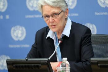 Margareta Wahlström, Secretary-General's Special Representative for Disaster Risk Reduction.