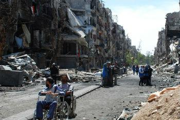 UNRWA extremely concerned about the safety in the Palestinian refugee camp of Yarmouk.