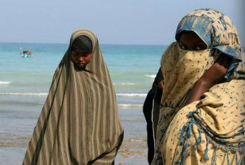 Many people are crossing the Red Sea to reach Djibouti. UNHCR/K. McKinsey