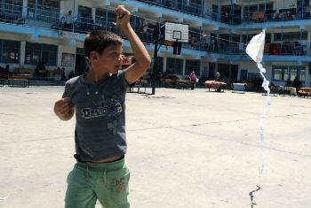 Conflict has left many children in need of psychological care, UNRWA says.