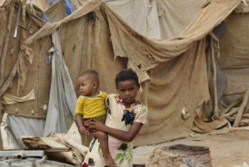 Children in Yemen.