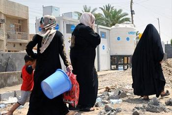 The health clinics are a lifeline for some of the more than three million displaced people in Iraq.