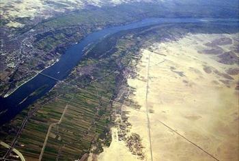Nile basin.