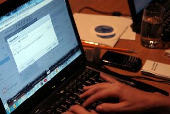 Cybercrime targeted at world IT summit Geneva.