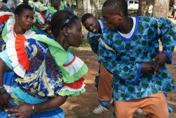 Isukuti dance of Isukha and Idakho communities of Western Kenya.