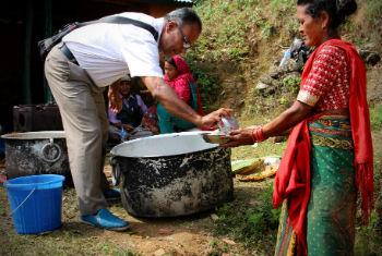 Hundreds of thousands of people remain homeless nearly three weeks after the first tremor hit Nepal, in April.