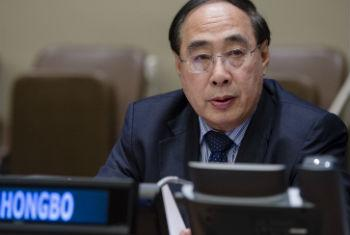Wu Hongbo, UN Under-Secretary-General for Economic and Social Affairs.