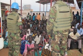 Assistance of civilians in South Sudan.