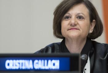 Cristina Gallach.