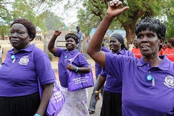 Women in Juba, South Sudan.