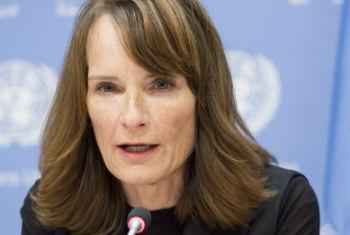 Georgette Gagnon, Director of Human Rights, UN Assistance Mission in Afghanistan (UNAMA).