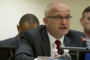 Peter Jan Graaff, UN Secretary-General's Special Representative for UNMEER.