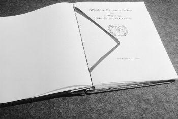 The United Nations Charter. UN File Photo/Rosenberg